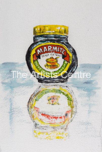 Marmite Jar by Lorna Markillie  - Classic Food