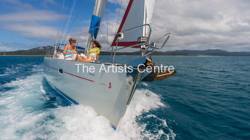 Sun sea sailing in the Whitsundays Australia