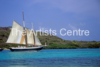 Sailboat St Vincent and the Grenadines West Indies Caribbean