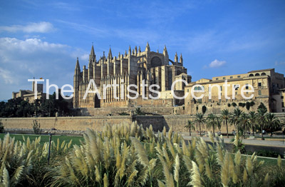 Palma cathedral Mallorca Spain Europe