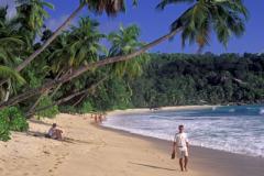 Seychelles Indian Ocean Takamaka Beach