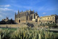 Palma cathedral Mallorca Spain Europe