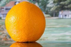 orange scene